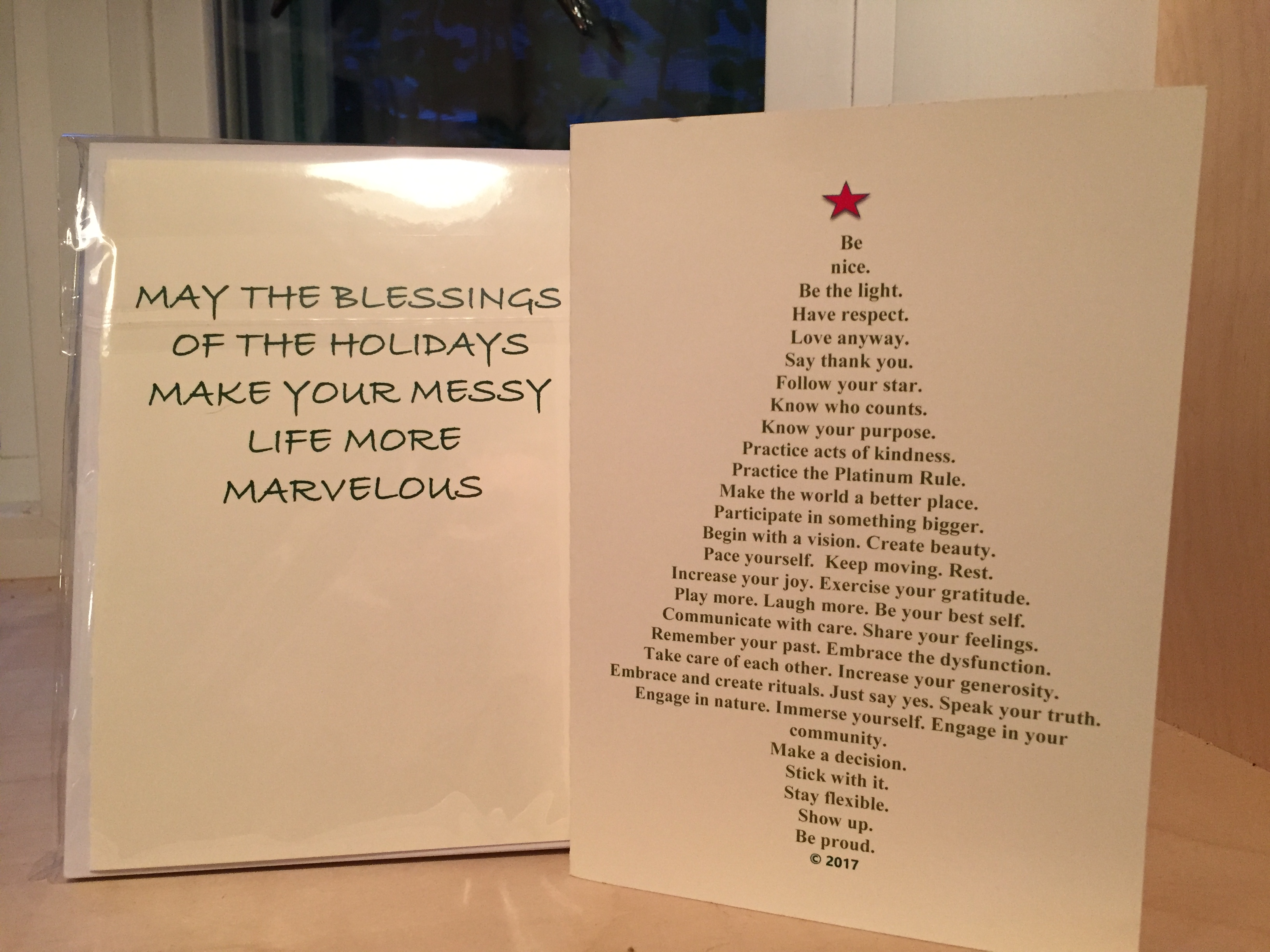 Christmas cards life is messy life is marvelous christmas cards kristyandbryce Gallery